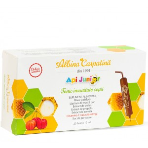 Apijunior Tonic imunitate copii 20 fiole x 10 ml