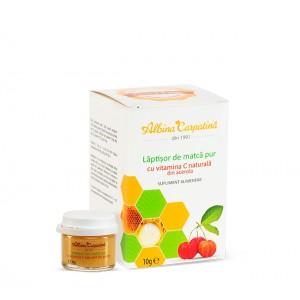Laptisor de matca pur cu vitamina C naturala din acerola 10g