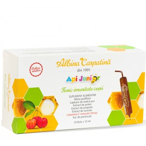 Apijunior Tonic imunitate copii 10 fiole x 10 ml