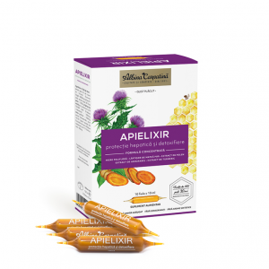APIELIXIR protecție hepatică și detoxifiere 10 fiole x 10 ml