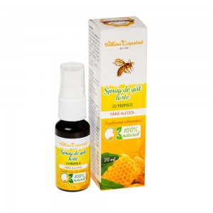 Spray de gat forte cu Propolis 20ml
